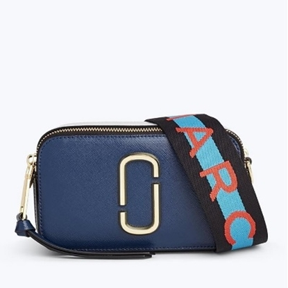 Picture of Marc Jacobs Snapshot Camera Bag - Blue Sea Multi