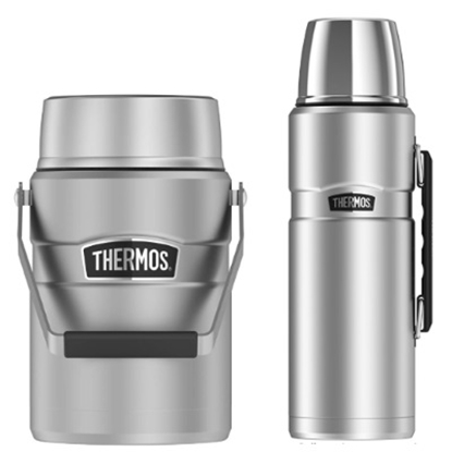 Picture of Thermos Food Jar and 2L Bottle