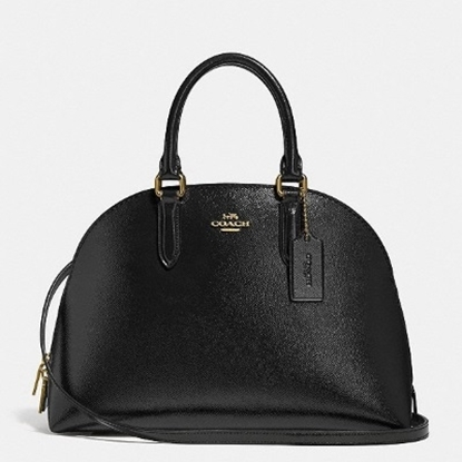 Picture of Coach Patent Leather Quinn Satchel