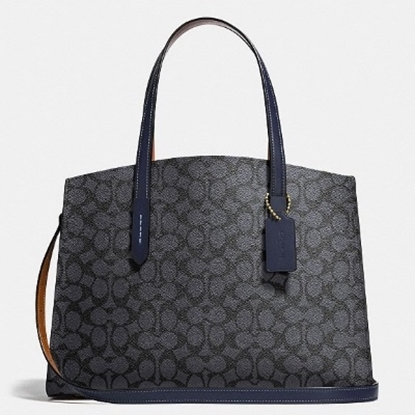 Picture of Coach Signature Coated Canvas