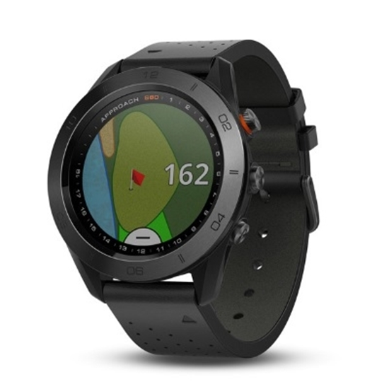 Picture of Garmin Approach® S60 Premium GPS Golf Watch - Black