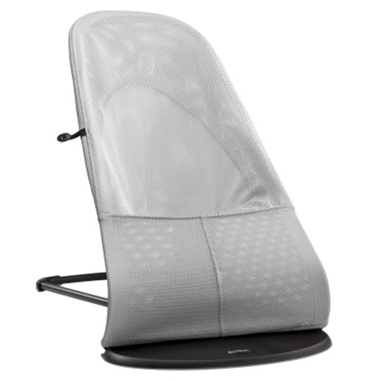 Picture of BabyBjörn Bouncer Balance Soft - Silver/White Mesh