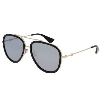 Picture of Gucci Urban Metal Pilot Sunglasses - Endura Gold/Black