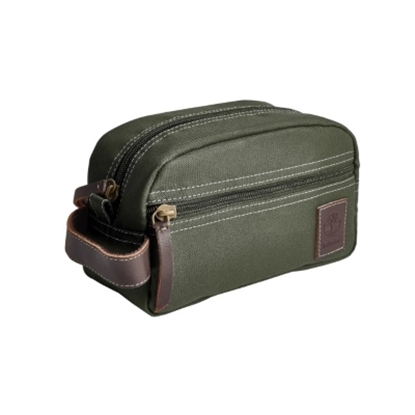 Picture of Timberland Core Canvas Travel Kit - Olive
