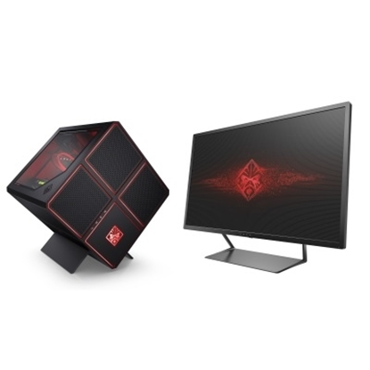 Picture of HP Omen X Gaming Desktop with 32'' Monitor