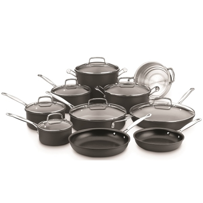 Picture of Cuisinart® Hard Anodized 17-Piece Cookware Set