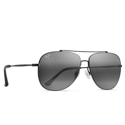 Picture of Maui Jim Cinder Cone Polarized Sunglasses - Black/Grey