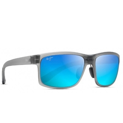 Picture of Maui Jim Pokowai Arch Polarized - Translucent Grey/Blue