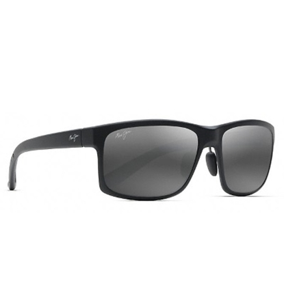 Picture of Maui Jim Pokowai Arch Polarized Sunglasses - Matte Black/Grey