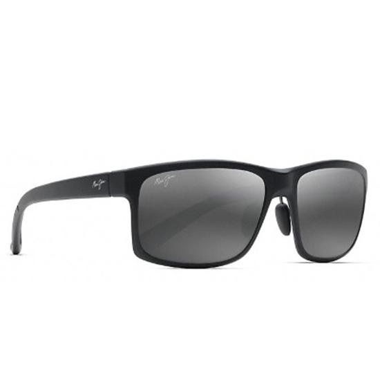 e97cf46fd8 Picture of Maui Jim Pokowai Arch Polarized Sunglasses - Matte Black Grey