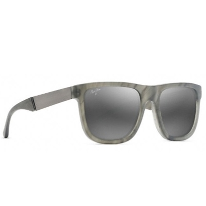 Picture of Maui Jim Talk Story Polarized Sunglasses - Stormy Grey/Grey