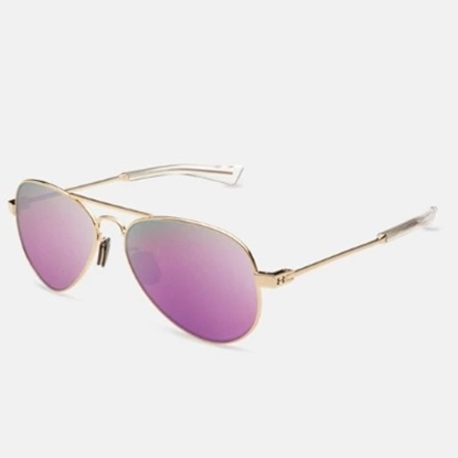 Picture of Under Armour Getaway Sunglasses - Gloss Rose Gold/Pink Mirror