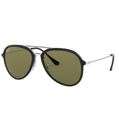 Picture of Ray-Ban® Double Bridge Pilot - Black/Grey Gradient