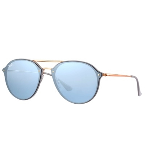 Picture of Ray-Ban® Blaze with Injected Bronze/Violet Mirror Lens