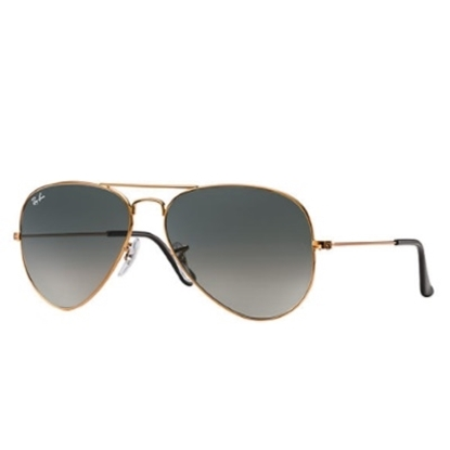 Picture of Ray-Ban® Aviator Sunglasses - Bronze/Grey Gradient