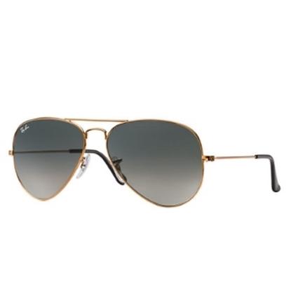 Picture of Ray-Ban® Aviator Sunglasses - Bronze/Grey Gradient