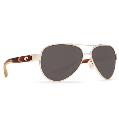 Picture of Costa Loreto Sunglasses - Rose Gold & Tortoise/Gray