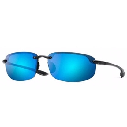 Picture of Maui Jim® Ho'Okipa Sunglasses - Smoke Grey/Blue Lens