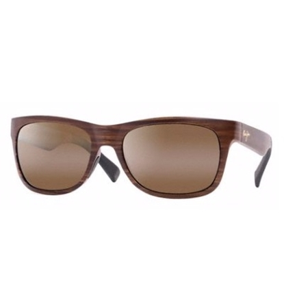 Picture of Maui Jim® Kahi Sunglasses - Matte Brown Wood Grain