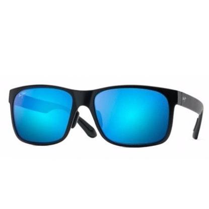 Picture of Maui Jim® Red Sands Sunglasses - Matte Black/Blue