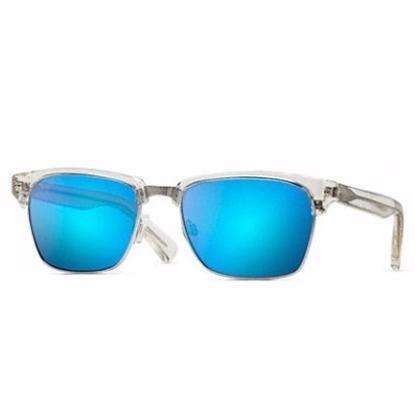 Picture of Maui Jim® Kawika Sunglasses - Crystal/Blue
