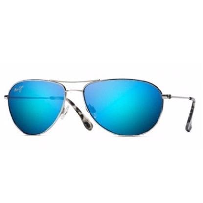 Picture of Maui Jim® Seahouse Polarized Sunglasses - Blue Hawaii Lens