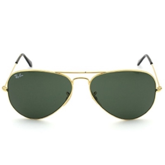 Picture of Ray-Ban® Original Aviator Sunglasses - Gold/Green