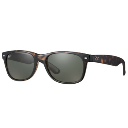 Picture of Ray-Ban® New Wayfarer Polarized - Classic Tortoise/Green