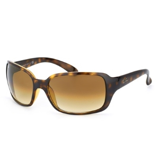 Picture of Ray-Ban® Highstreet Sunglasses- Tortoise/Lt Brown Gradient