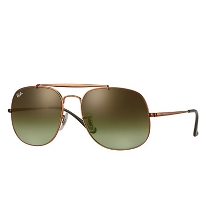 Picture of Ray-Ban® The General Sunglasses - Bronze/Green Gradient
