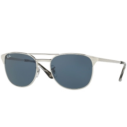 Picture of Ray-Ban® Signet Sunglasses - Silver/Grey Lens