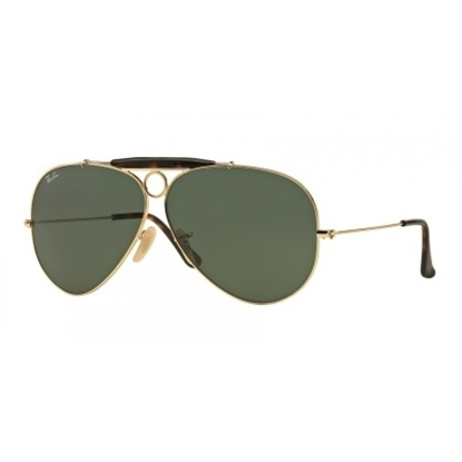Picture of Ray-Ban® Shooter Sunglasses - Havana Gold/Green Gradient