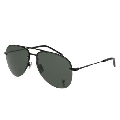 Picture of St. Laurent Unisex Classic Metal Sunglasses - Matte Black/Grey