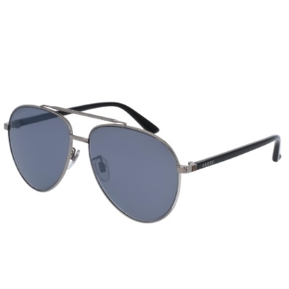 Picture of Gucci Sensual Romanticism Pilot Sunglasses - Black/Gunmetal