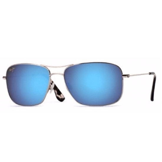 Picture of Maui Jim® Wiki Wiki - Silver/Blue Hawaii