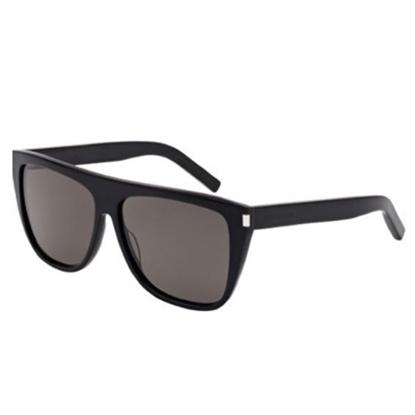 Picture of St. Laurent Unisex Rectangular/Square Sunglasses- Havana/Smoke