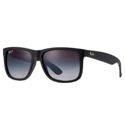 Picture of Ray-Ban® Justin Polarized Sunglasses - Black/Grey Gradient