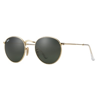 Picture of Ray-Ban® Round Metal Sunglasses - Gold/Green