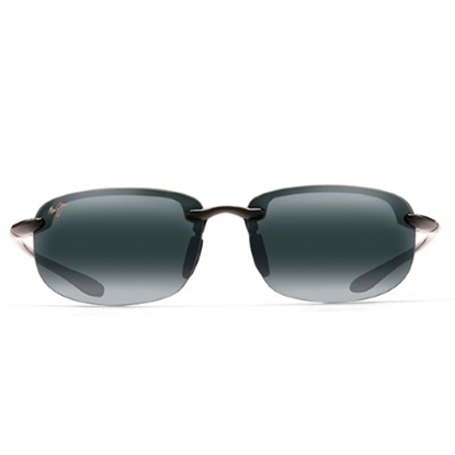 Picture of Maui Jim® Hookipa Reader Sunglasses - Gloss Black/Grey