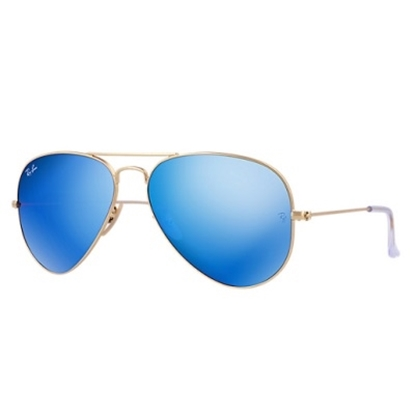 Picture of Ray-Ban® Original Aviators - Blue Flash Lens