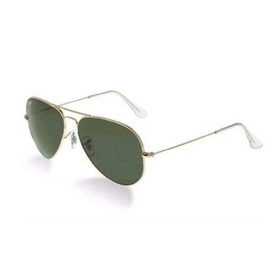 Picture of Ray-Ban Original Aviators - Green Polarized Lens & Gold Frame