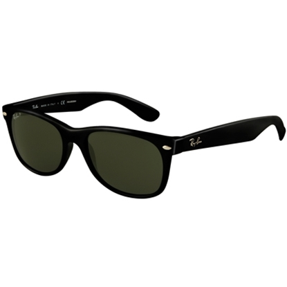 Picture of Ray-Ban® New Wayfarer Sunglasses - Black Polarized