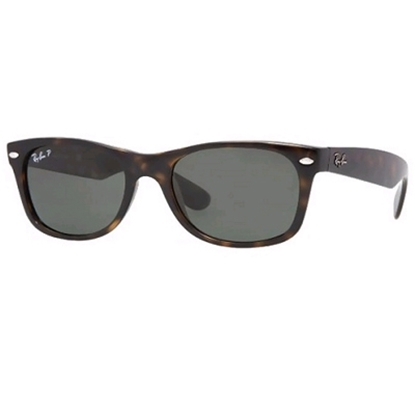 Picture of Ray-Ban® New Wayfarer Sunglasses - Tortoise/Polarized