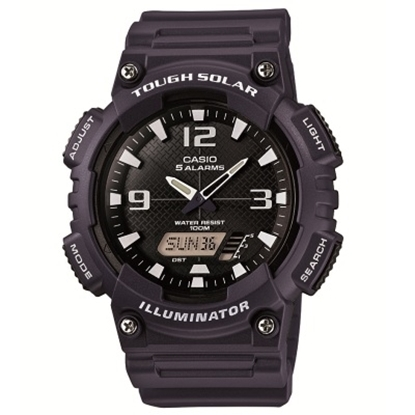 Picture of Casio Sport Tough Solar Analog/Digital Watch - Navy/Black