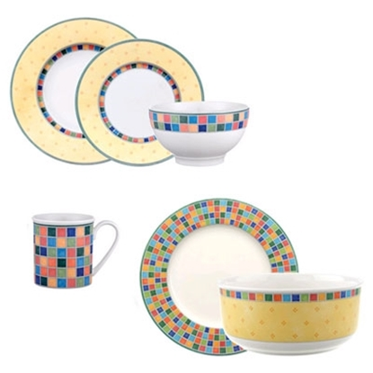Picture of Villeroy & Boch Twist Alea 18-Piece Dinnerware Set