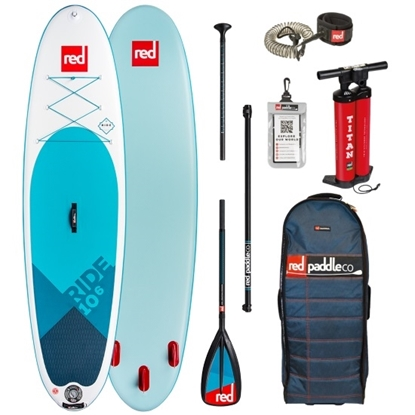 Picture of Red Paddle 10'6 Paddle Board with Paddle and Leash