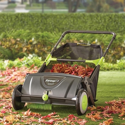 Picture of The Leaf Collecting Lawn Sweeper