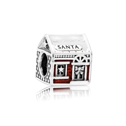 Picture of Pandora® Santa's Home Charm