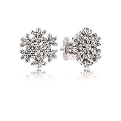 Picture of Pandora® Snowflake Stud Earrings