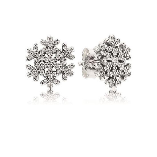 Picture of Pandora® Snowflake Stud Earrings